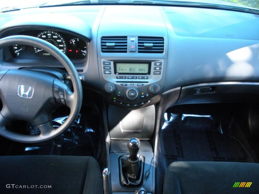 2007 honda accord value package sedan black dashboard photo 40991561. Black Bedroom Furniture Sets. Home Design Ideas
