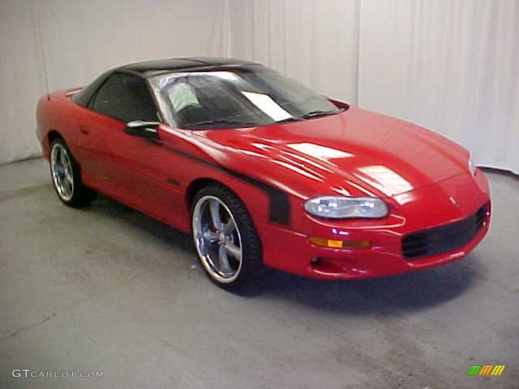 1999 Bright Red Chevrolet Camaro Z28 Coupe #40962197 ...