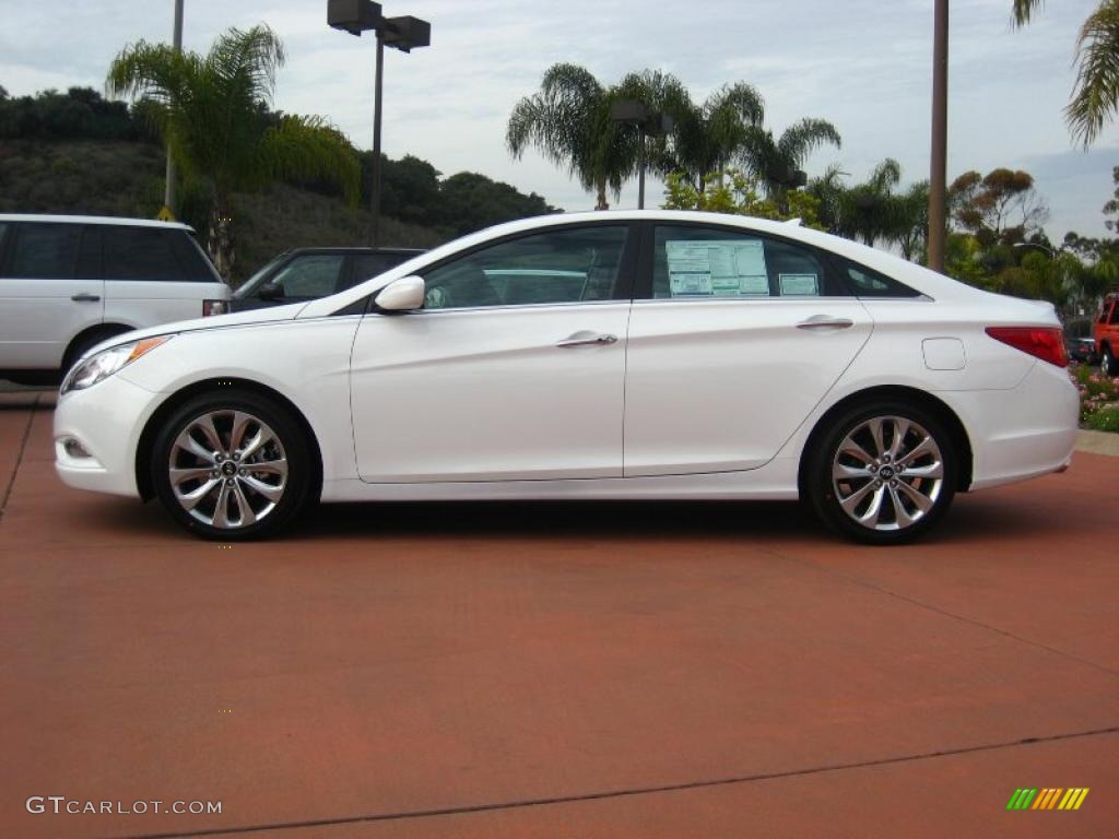 Pearl White 2011 Hyundai Sonata Se 2 0t Exterior Photo 41007670 Gtcarlot Com