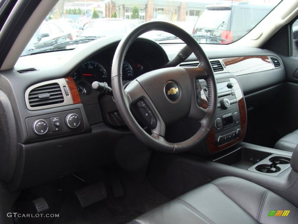 chevrolet avalanche interior ebony - photo #6