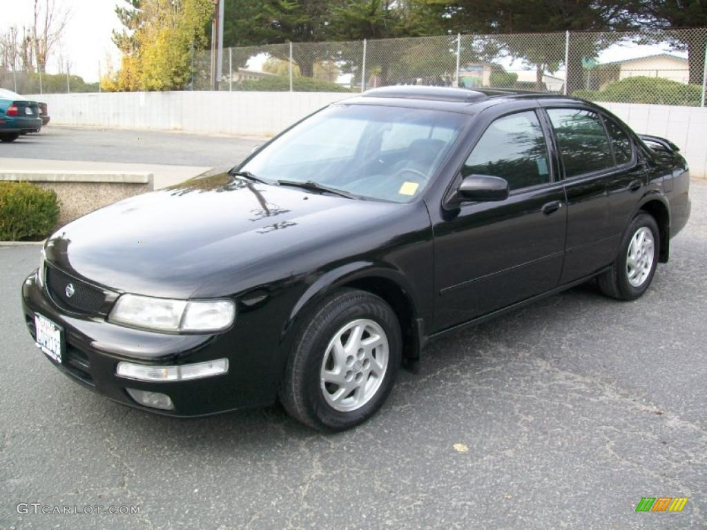 Super Black 1996 Nissan Maxima SE Exterior Photo #41014803 ...