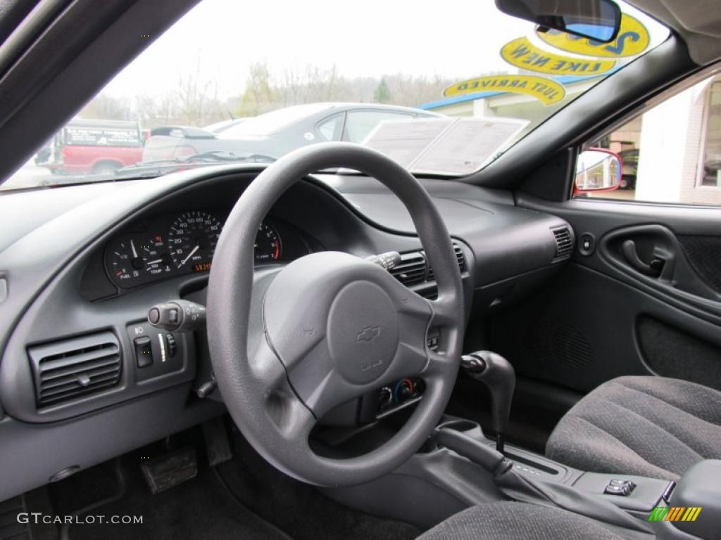 Graphite Gray Interior 2003 Chevrolet Cavalier LS Sport Coupe Photo #41020103
