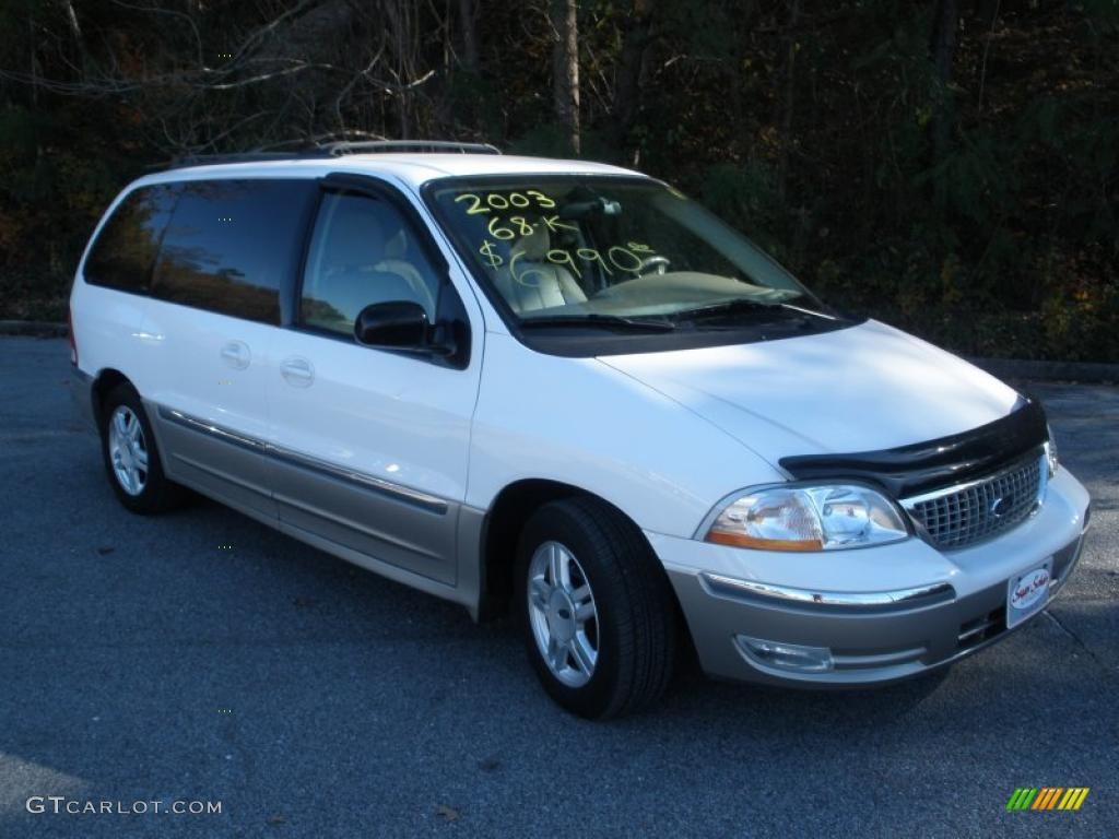 2003 vibrant white ford windstar sel 40962499 car color galleries. Black Bedroom Furniture Sets. Home Design Ideas