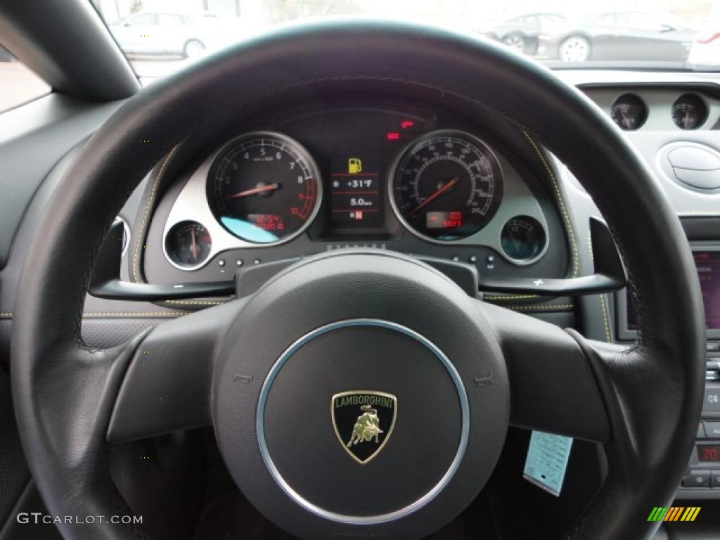 2006 Lamborghini Gallardo Spyder Steering Wheel Photos ...