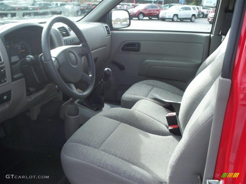 2008 chevrolet colorado regular cab 4x4 interior photo for Co interior