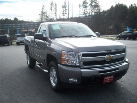2009 chevrolet silverado 1500 lt regular cab 4x4 data. Black Bedroom Furniture Sets. Home Design Ideas