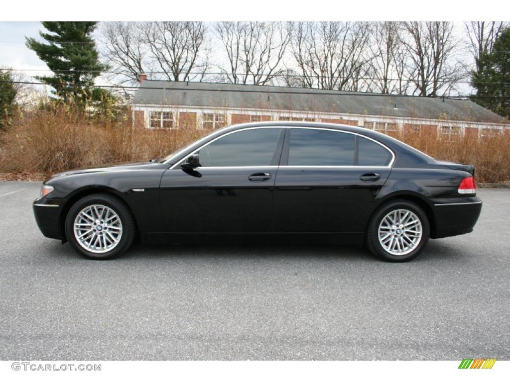 jet black 2005 bmw 7 series 745li sedan exterior photo 41036356. Black Bedroom Furniture Sets. Home Design Ideas