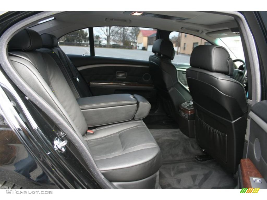 2005 BMW 7 Series 745Li Sedan Interior Photo 41036596