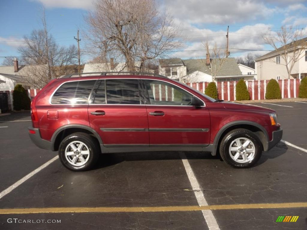 ruby red metallic 2003 volvo xc90 2 5t awd exterior photo 41039996. Black Bedroom Furniture Sets. Home Design Ideas
