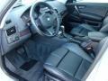 2008 BMW X3 Black Interior Prime Interior Photo