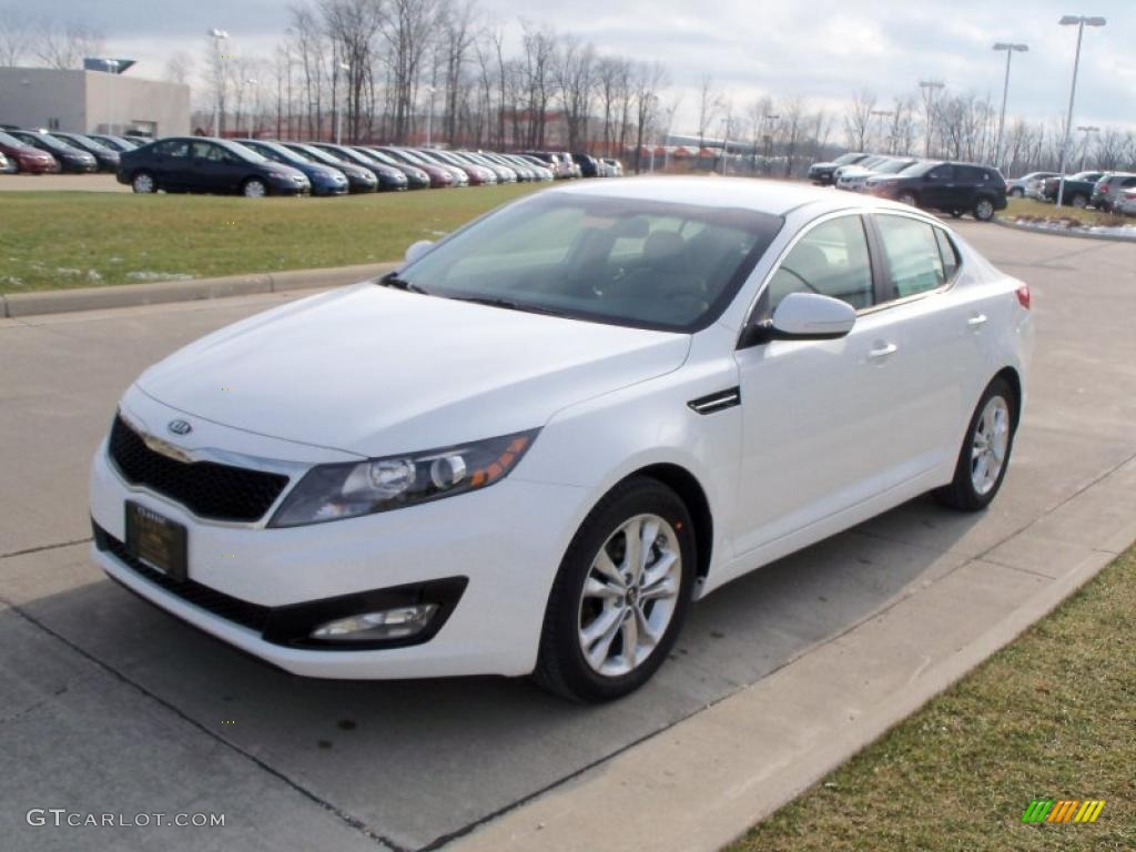 Snow White Pearl 2011 Kia Optima EX Exterior Photo #41042973