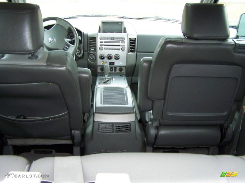 Graphite Titanium Interior 2005 Nissan Titan Le Crew Cab