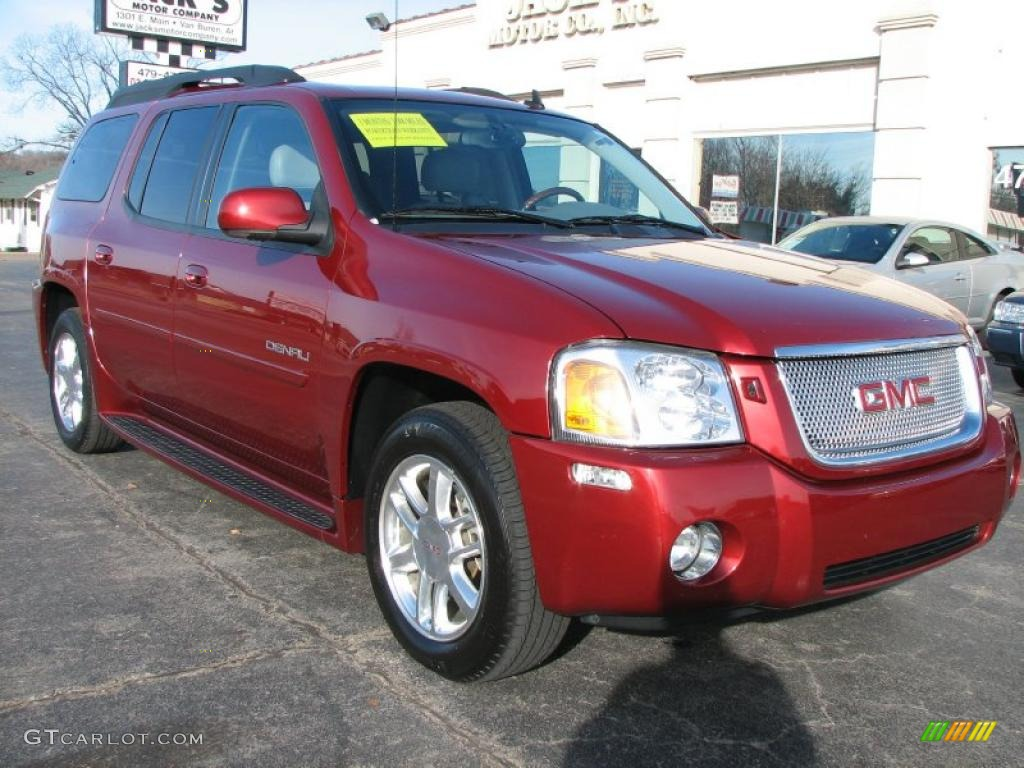 Red jewel metallic 2006 gmc envoy xl denali exterior photo 41045361