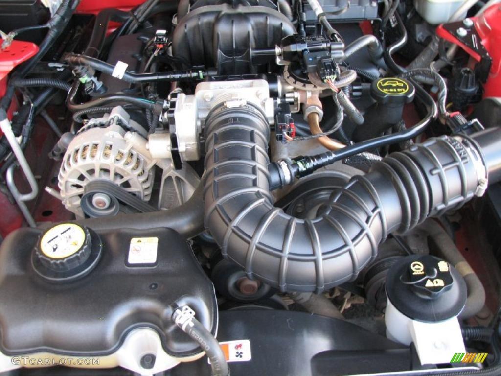 2006 Ford Mustang V6 Deluxe Convertible 4.0 Liter SOHC 12-Valve V6 Engine Photo #41045809