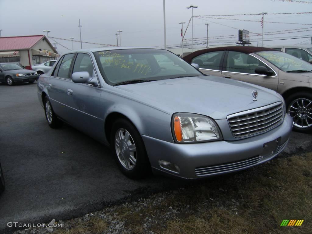 2005 Blue Ice Cadillac Deville Sedan 4085834 Photo 2 Car Color Galleries