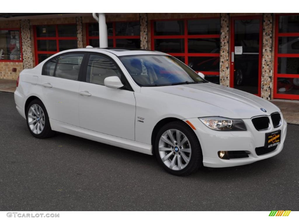 Alpine White 2009 Bmw 3 Series 328xi Sedan Exterior Photo