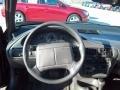 1996 Chevrolet Cavalier Dark Gray Interior Steering Wheel Photo