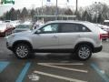 2011 Bright Silver Kia Sorento EX AWD  photo #6