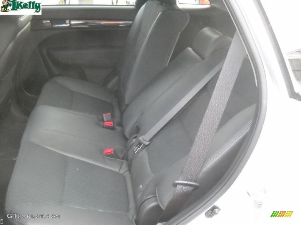 2011 Sorento EX AWD - Bright Silver / Gray photo #13