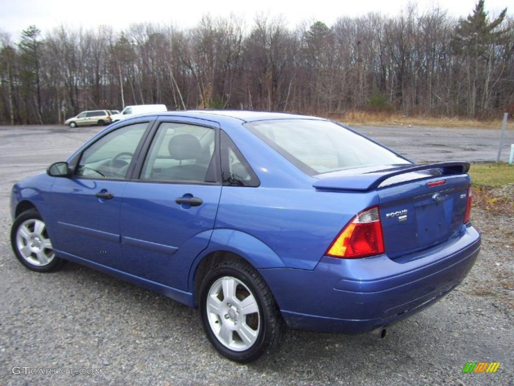 French blue metallic 2005 ford focus zx4 ses sedan exterior photo 41051053