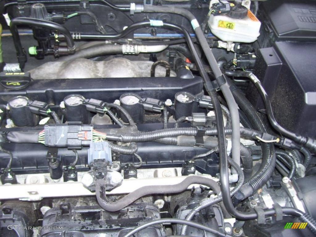 2005 ford focus zx4 ses sedan 2 0 liter dohc 16 valve duratec 4 cylinder engine photo 41051145. Black Bedroom Furniture Sets. Home Design Ideas