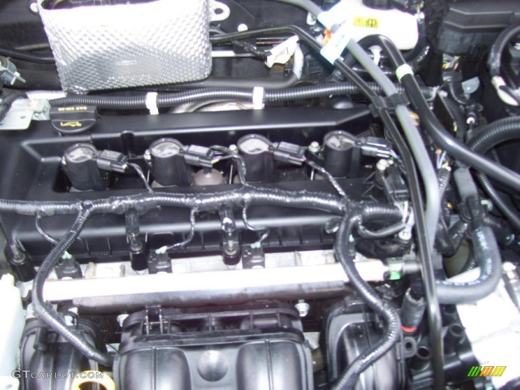 2009 ford focus ses coupe 2 0 liter dohc 16 valve duratec 4 cylinder engine photo 41051581. Black Bedroom Furniture Sets. Home Design Ideas