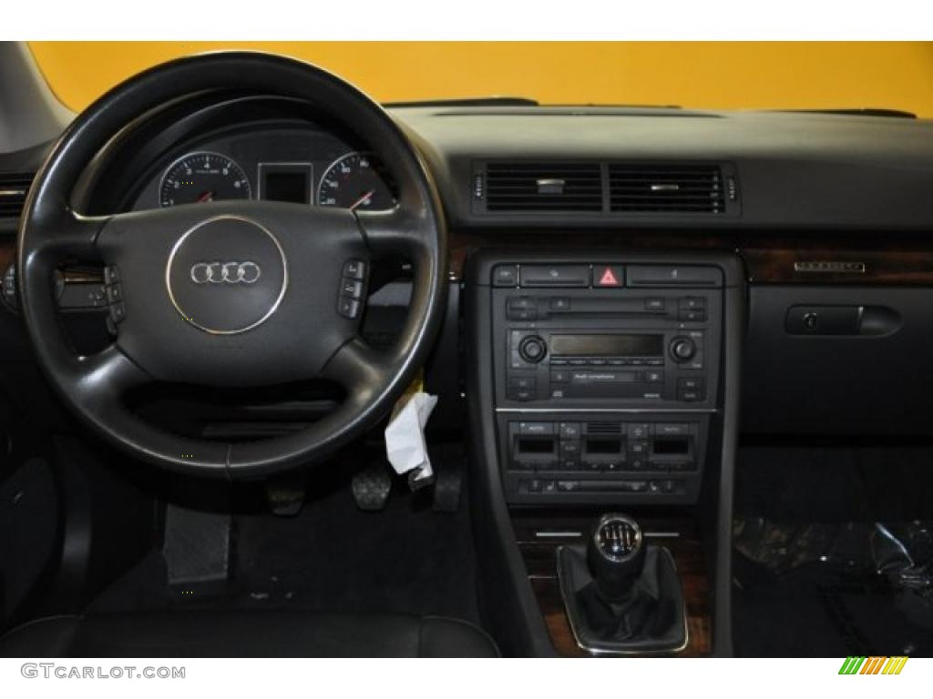 2003 Audi A4 3.0 Quattro >> 2004 Audi A4 3.0 quattro Sedan Ebony Dashboard Photo #41054241 | GTCarLot.com