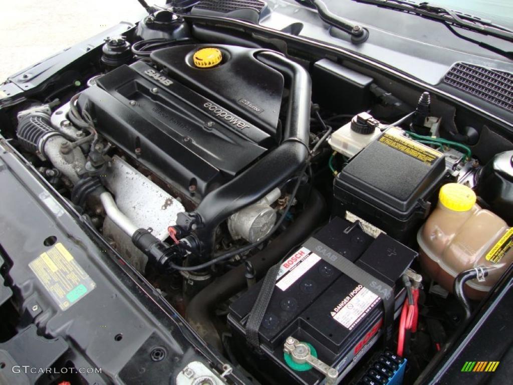 2002 saab 9 5 aero sedan 2 3 liter turbocharged dohc 16. Black Bedroom Furniture Sets. Home Design Ideas