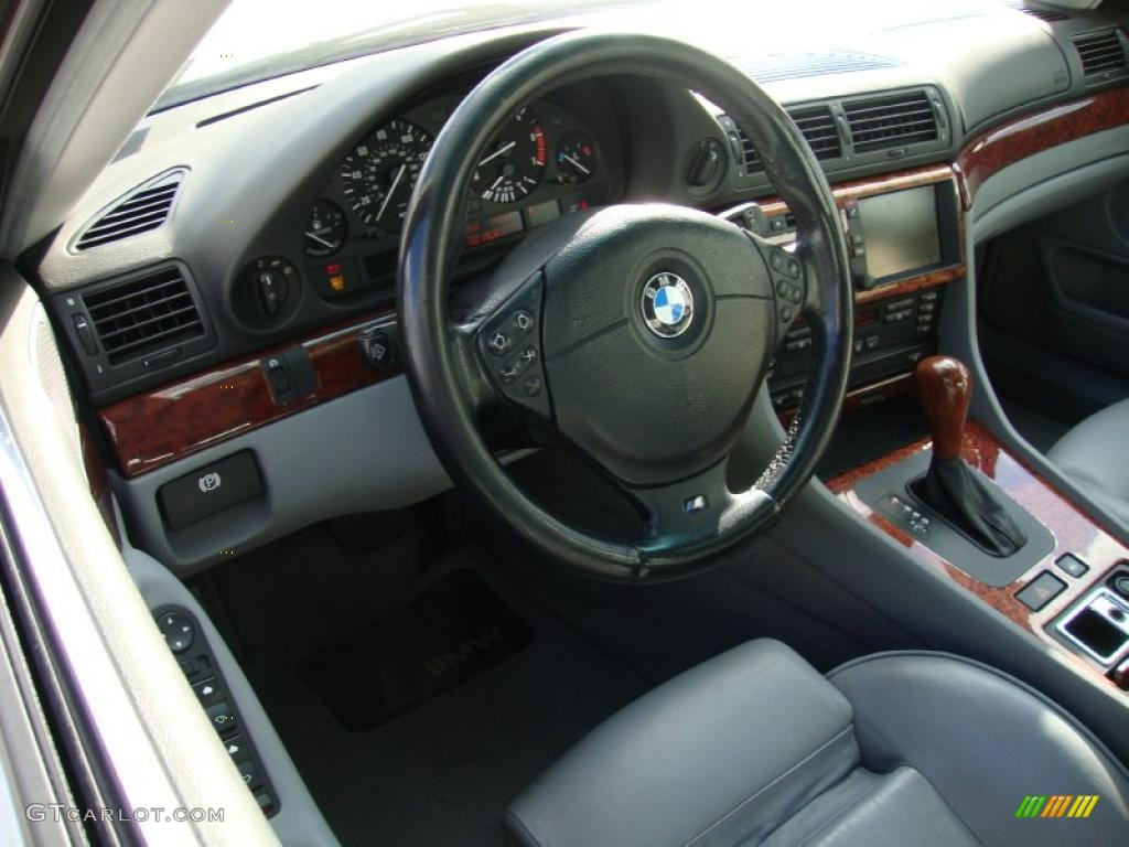 2001 Bmw 7 Series 740i Sedan Interior Photo 41060207