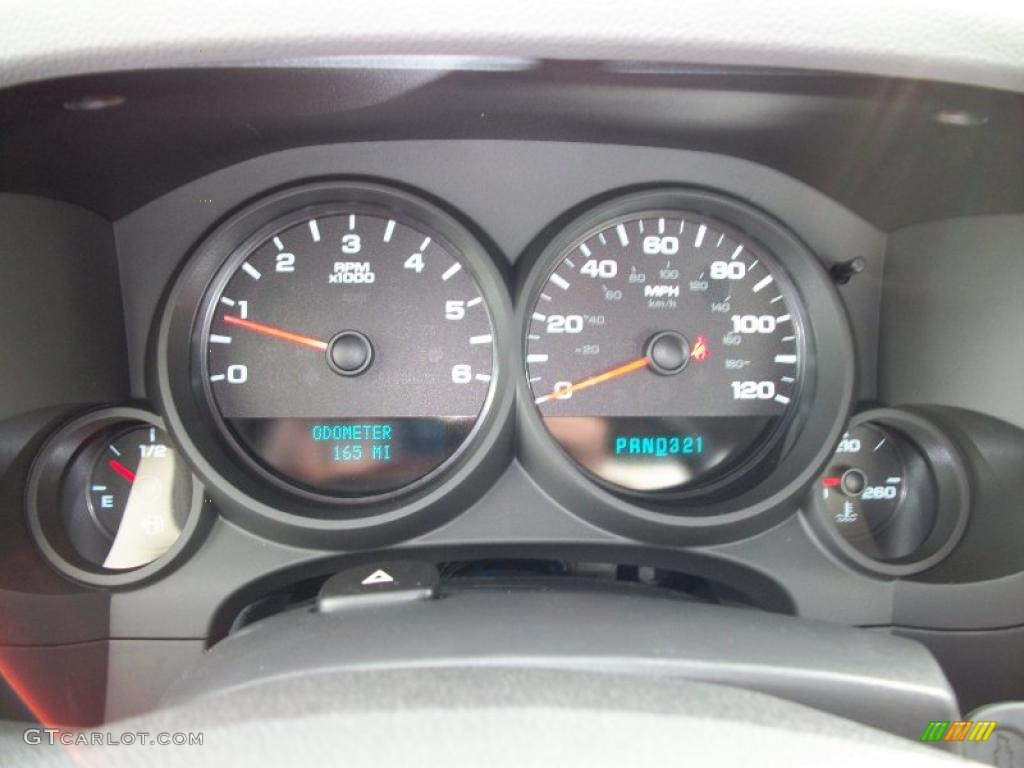 2011 Chevrolet Silverado 1500 Regular Cab 4x4 Gauges Photo #41074339