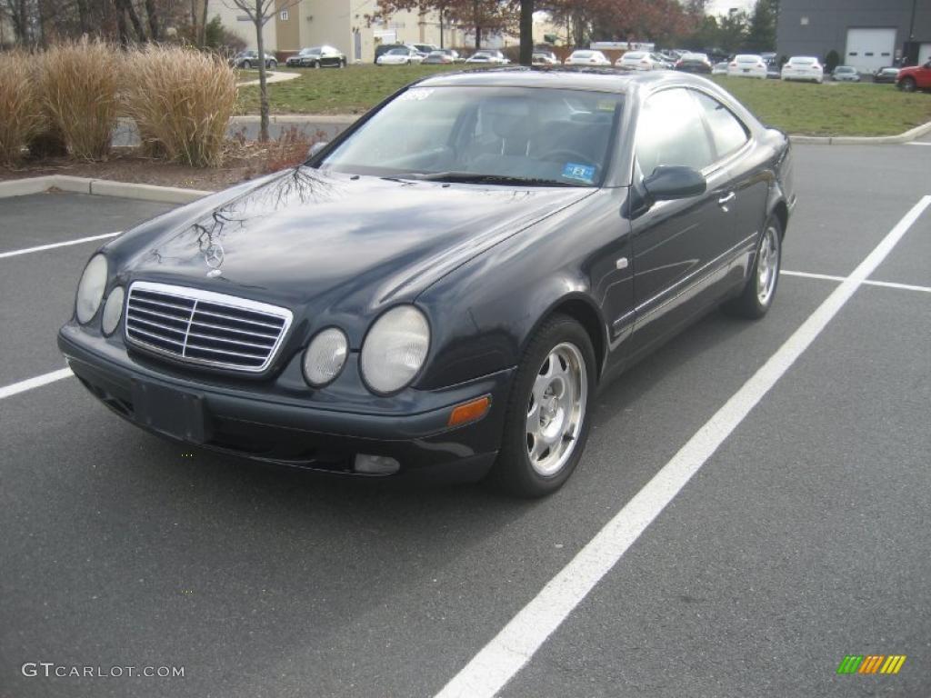 1998 black opal metallic mercedes benz clk 320 coupe for Mercedes benz 1998