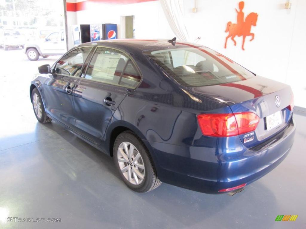 Tempest Blue Metallic 2011 Volkswagen Jetta Se Sedan Exterior Photo 41078619 Gtcarlot Com
