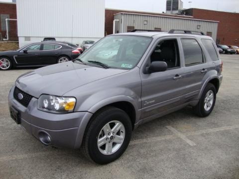 2007 Ford Escape Hybrid 4wd Data Info And Specs