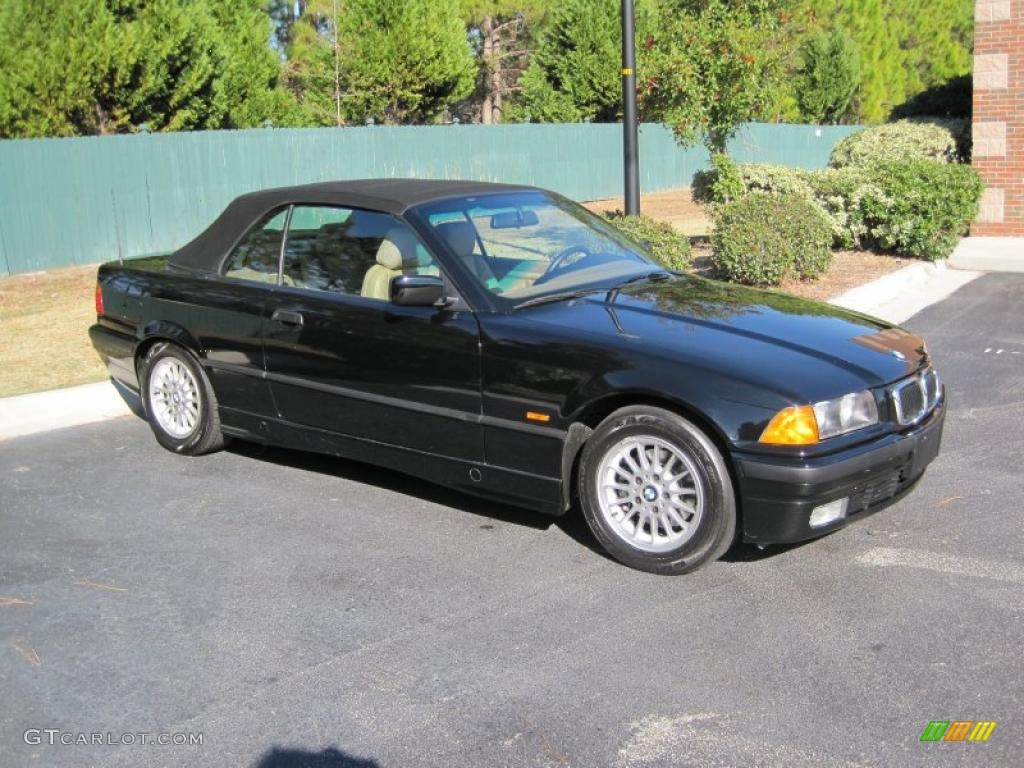 Jet Black 1999 Bmw 3 Series 323i Convertible Exterior