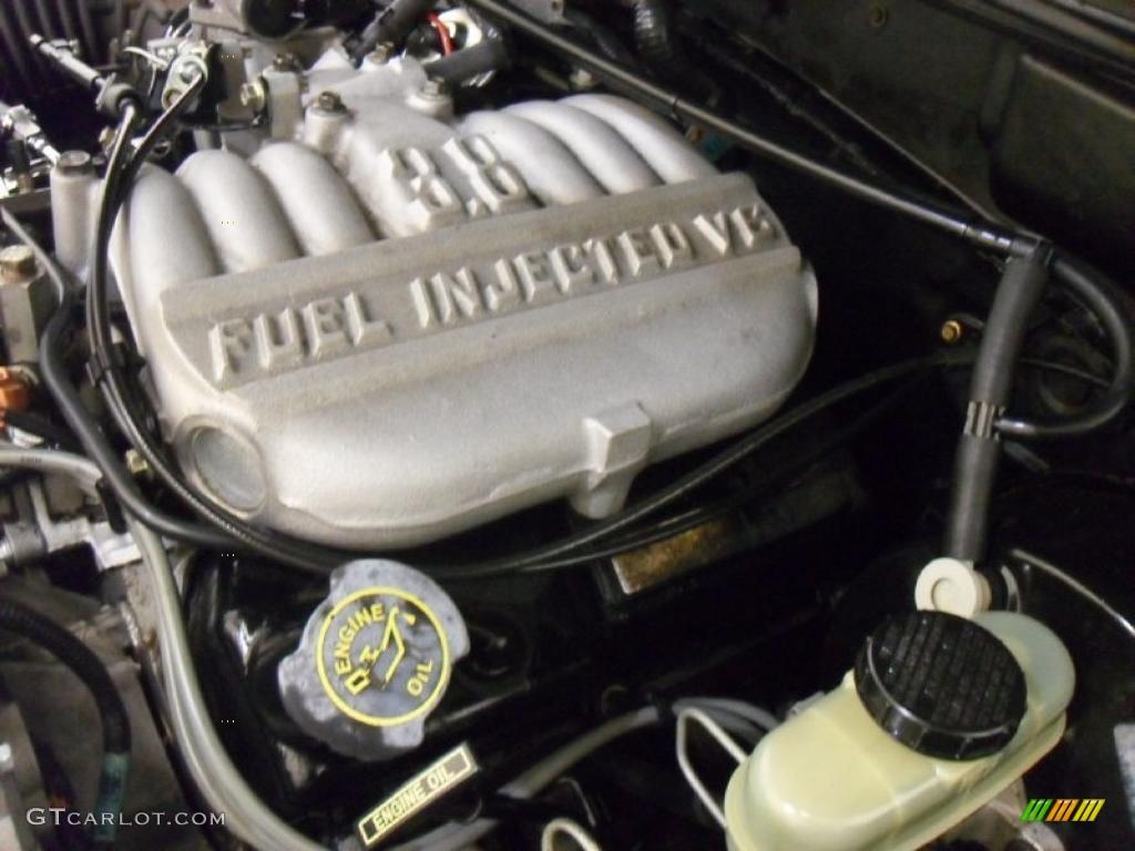 1998 Ford Mustang V6 Coupe 3 8 Liter Ohv 12