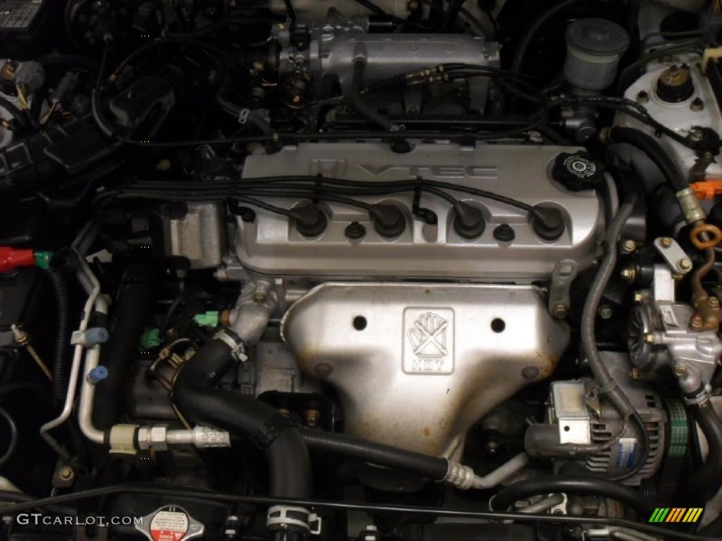 1996 honda accord ex coupe 2 2 liter sohc 16 valve 4 for Motor oil for 1996 honda accord
