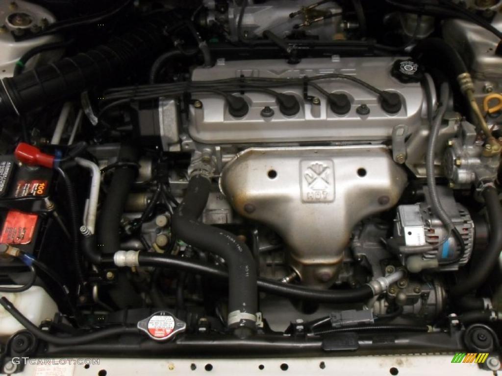 1999 Honda Accord LX Sedan 23L SOHC 16V VTEC 4 Cylinder Engine