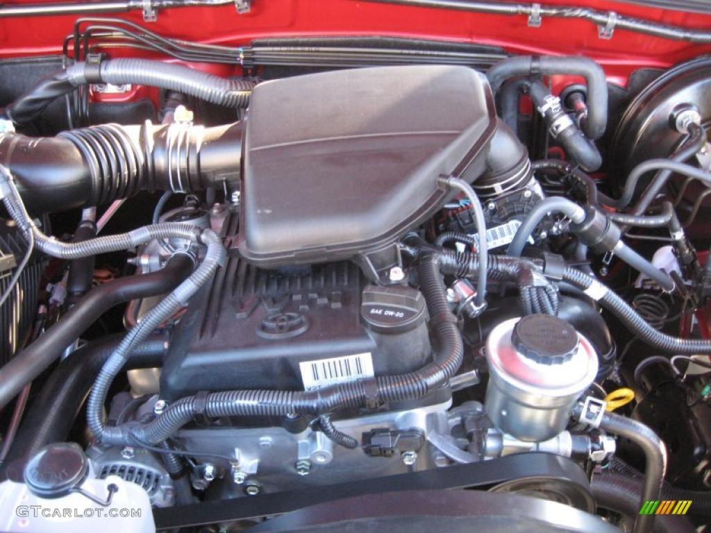 2011 toyota tacoma prerunner access cab 2 7 liter dohc 16 valve vvt i 4 cylinder engine photo. Black Bedroom Furniture Sets. Home Design Ideas