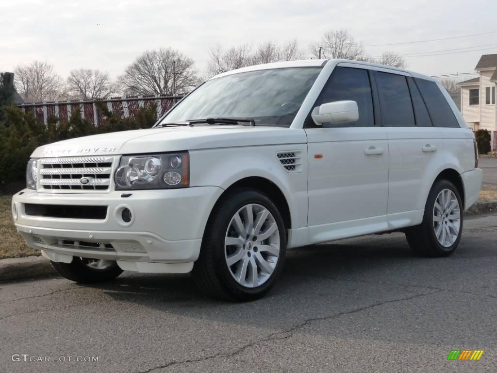 2006 chawton white land rover range rover sport supercharged 4093941 car color. Black Bedroom Furniture Sets. Home Design Ideas