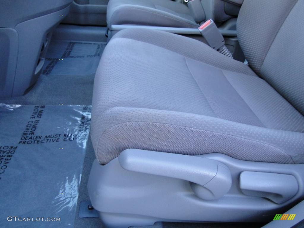 2008 CR-V LX - Royal Blue Pearl / Gray photo #13