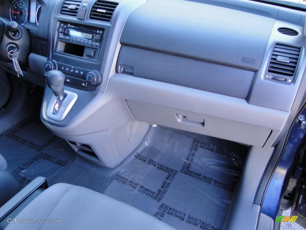2008 CR-V LX - Royal Blue Pearl / Gray photo #25