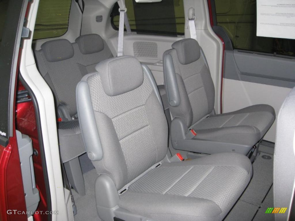 Medium Slate Gray Light Shale Interior 2010 Dodge Grand Caravan Sxt