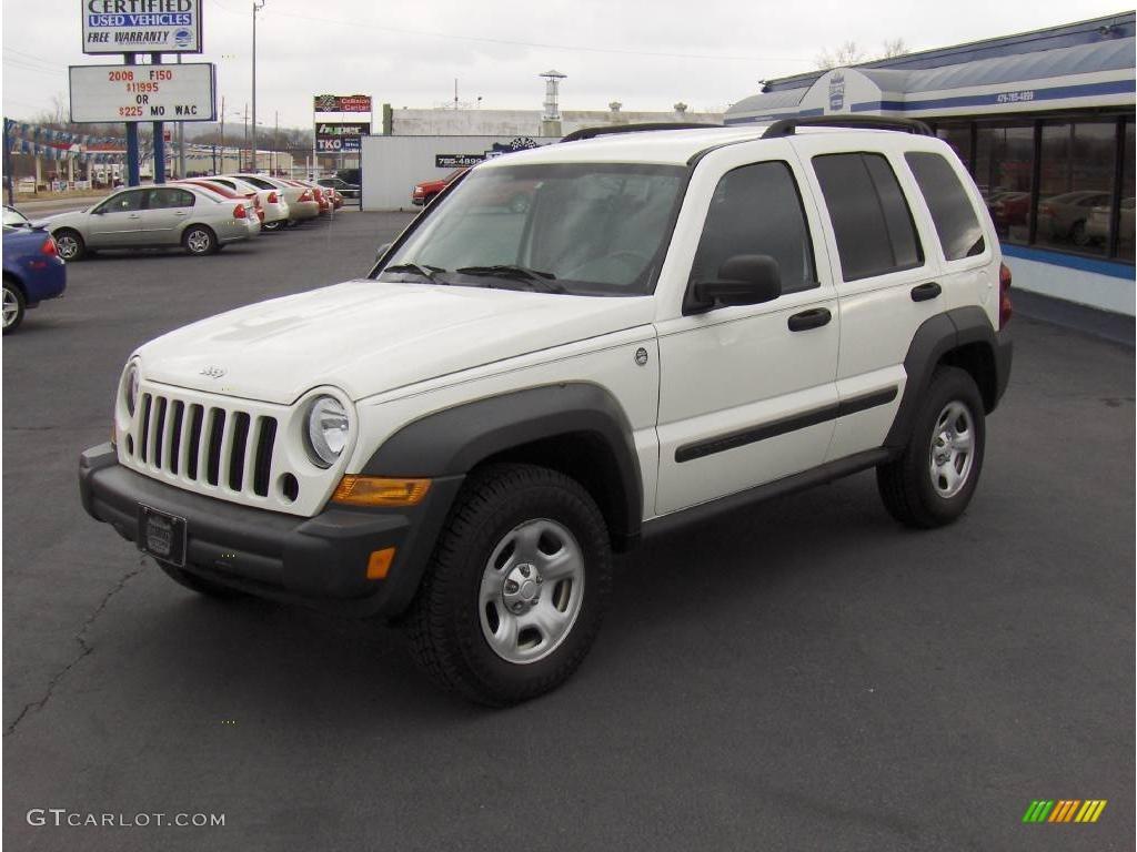 2006 stone white jeep liberty sport 4x4 #4088327 | gtcarlot