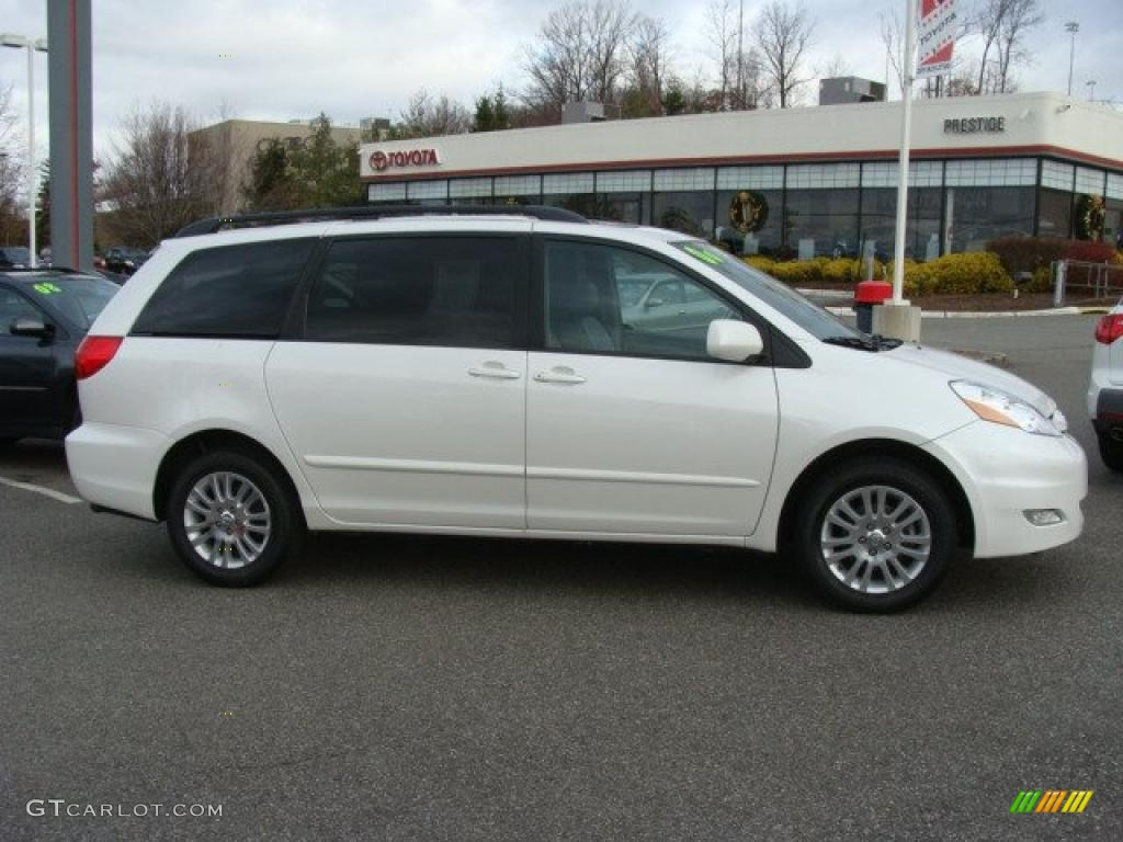 2008 natural white toyota sienna xle awd 41111963 car color galleries. Black Bedroom Furniture Sets. Home Design Ideas