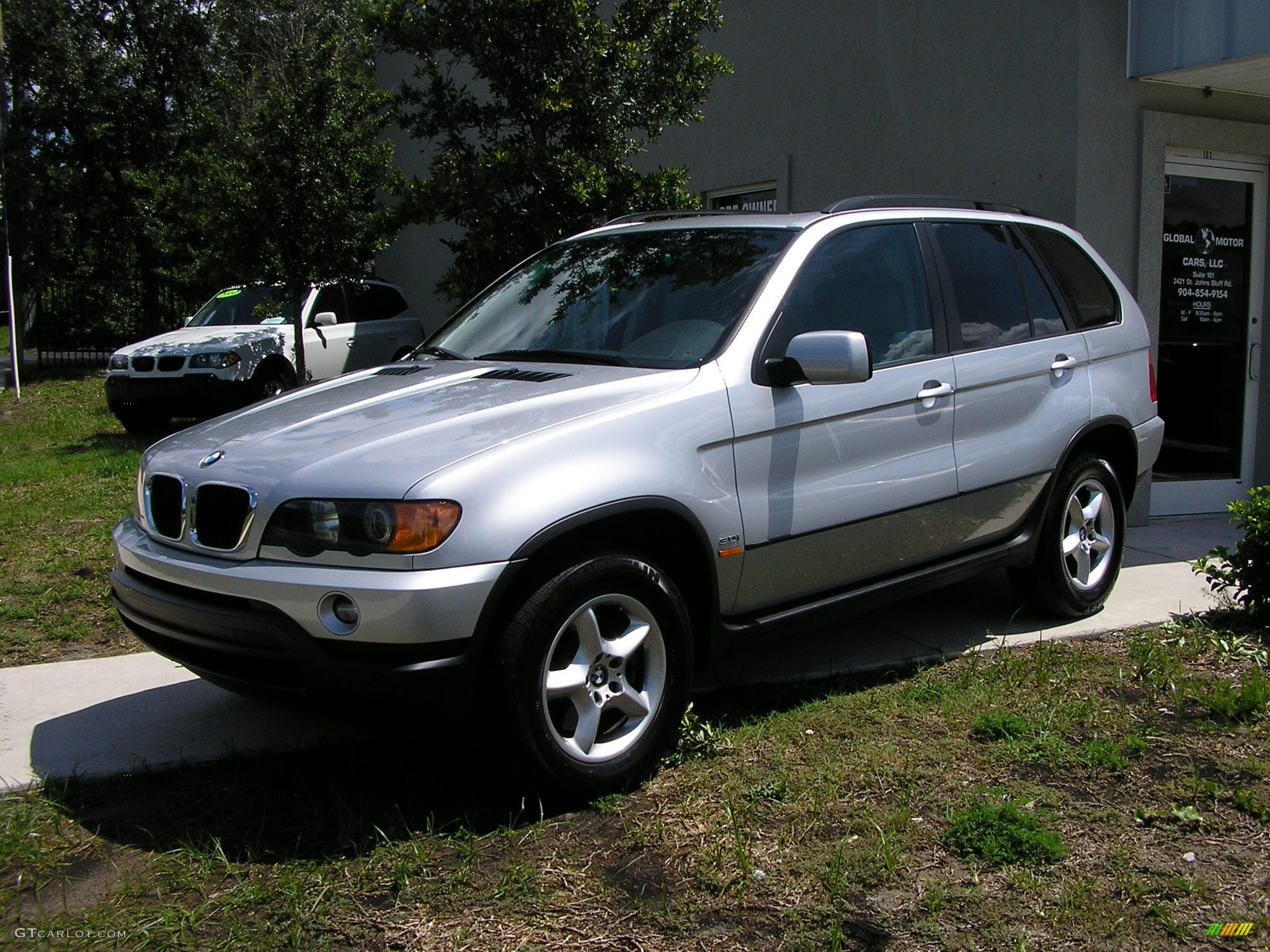 2003 titanium silver metallic bmw x5 41117 car color galleries. Black Bedroom Furniture Sets. Home Design Ideas