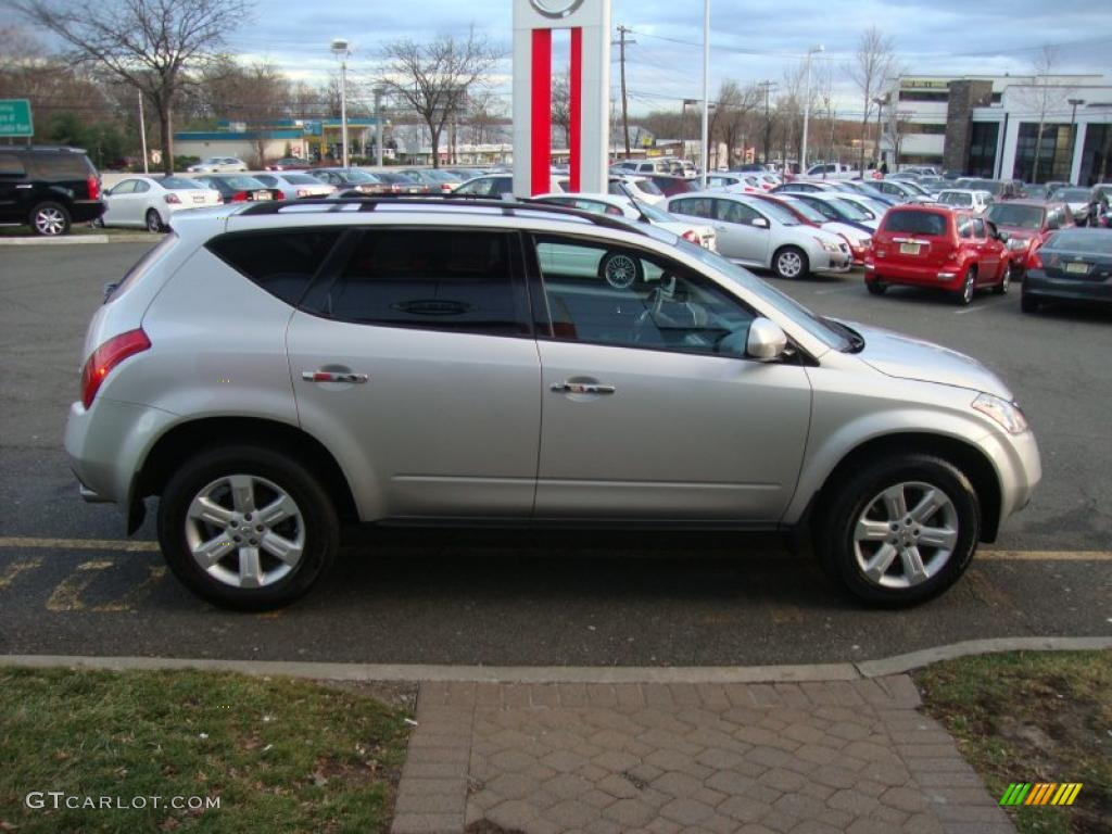 2007 Murano S AWD - Brilliant Silver Metallic / Charcoal photo #7