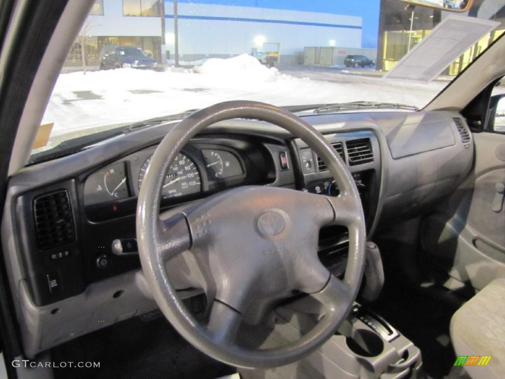 Charcoal interior 2001 toyota tacoma prerunner regular cab - 2001 toyota tacoma interior parts ...
