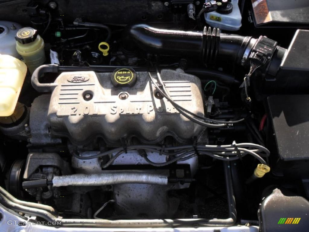 2003 ford focus se sedan 2 0 liter sohc 8 valve 4 cylinder engine photo