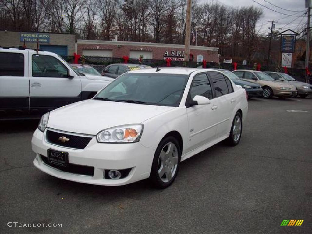 chevy malibu white - photo #29