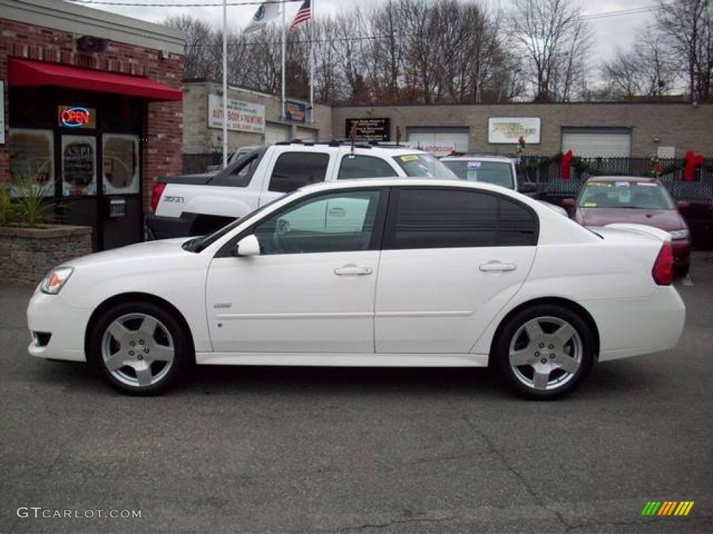 White 2006 chevrolet malibu ss sedan exterior photo 41129991 gtcarlot com